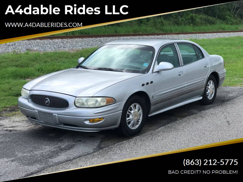 2003 Buick LeSabre for sale at A4dable Rides LLC in Haines City FL