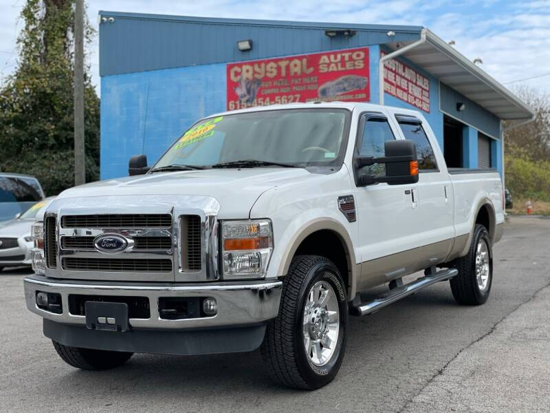 2010 Ford F-250 Super Duty for sale at Crystal Auto Sales Inc in Nashville TN