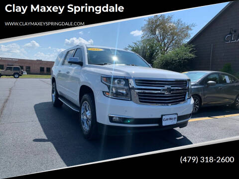 2016 Chevrolet Suburban for sale at Clay Maxey Springdale in Springdale AR