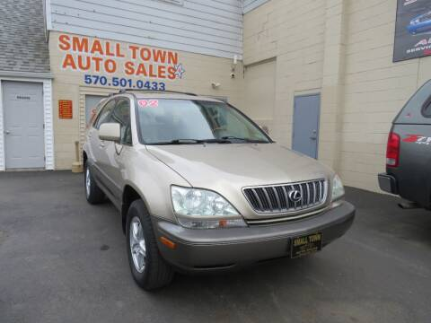 2002 Lexus RX 300 for sale at Small Town Auto Sales in Hazleton PA