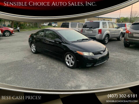2006 Honda Civic for sale at Sensible Choice Auto Sales, Inc. in Longwood FL