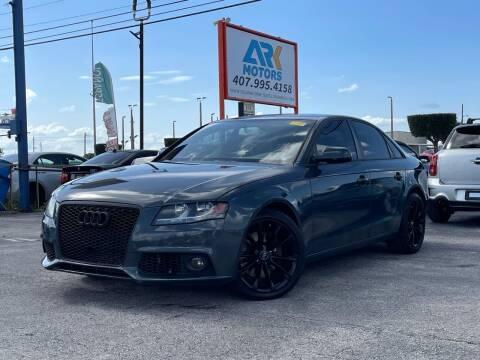 2011 Audi A4 for sale at Ark Motors LLC in Orlando FL