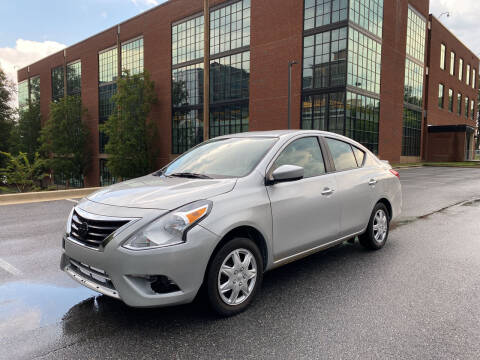 2017 Nissan Versa for sale at Auto Wholesalers Of Rockville in Rockville MD