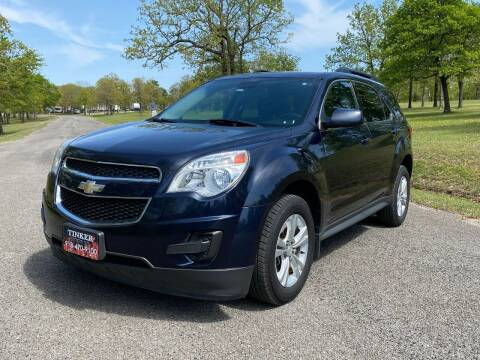 2015 Chevrolet Equinox for sale at TINKER MOTOR COMPANY in Indianola OK
