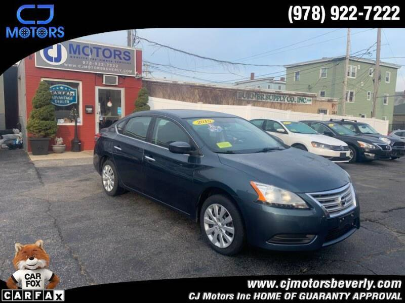 2015 Nissan Sentra for sale at CJ Motors Inc. in Beverly MA