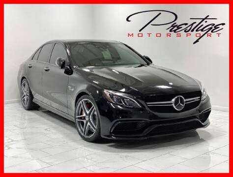 2015 Mercedes-Benz C-Class for sale at Prestige Motorsport in Rancho Cordova CA