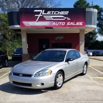 2007 Chevrolet Monte Carlo for sale at Fletcher Auto Sales in Augusta GA