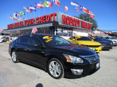 2014 Nissan Altima for sale at Giant Auto Mart 2 in Houston TX