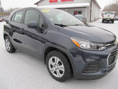 2018 Chevrolet Trax for sale at Thompson Motors LLC in Attica NY