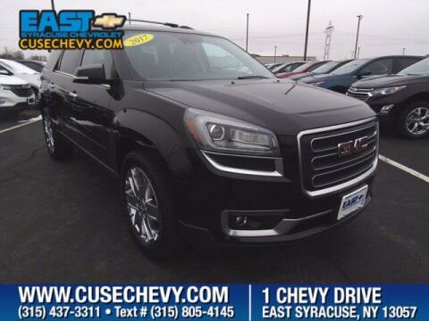 2017 GMC Acadia Limited for sale at East Syracuse Performance Sales & Service in Syracuse NY