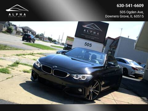 2014 BMW 4 Series for sale at Alpha Luxury Motors in Downers Grove IL