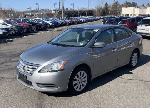 2013 Nissan Sentra for sale at Broadway Garage of Columbia County Inc. in Hudson NY