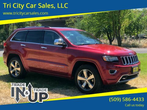 2014 Jeep Grand Cherokee for sale at Tri City Car Sales, LLC in Kennewick WA