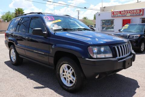 2004 Jeep Grand Cherokee for sale at MG Motors in Tucson AZ