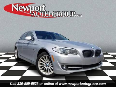 2012 BMW 5 Series for sale at Newport Auto Group in Austintown OH
