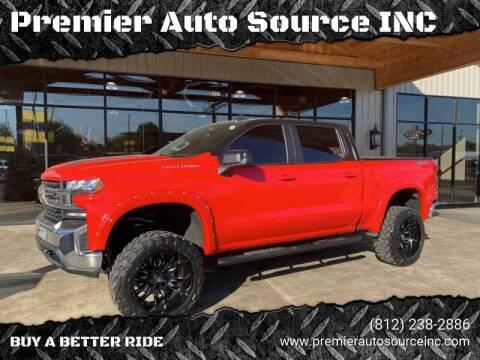 2020 Chevrolet Silverado 1500 for sale at Premier Auto Source INC in Terre Haute IN