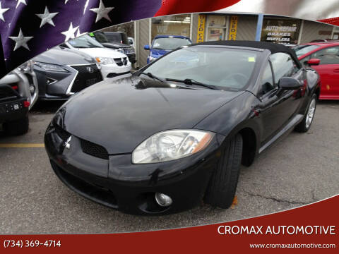 2007 Mitsubishi Eclipse Spyder for sale at Cromax Automotive in Ann Arbor MI
