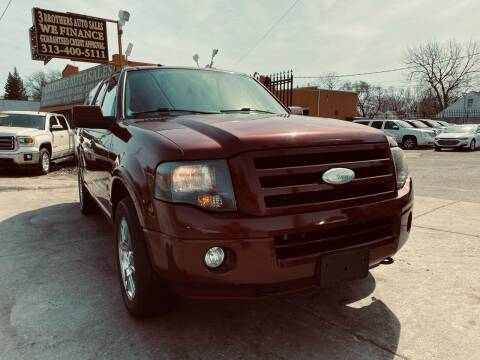 2007 Ford Expedition EL for sale at 3 Brothers Auto Sales Inc in Detroit MI