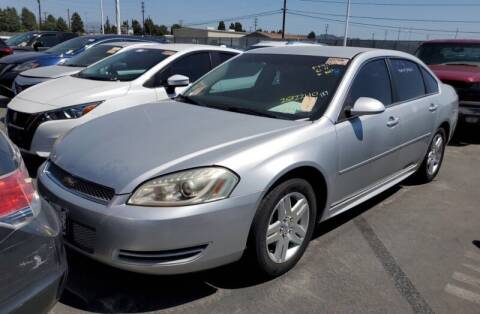 2012 Chevrolet Impala for sale at SoCal Auto Auction in Ontario CA