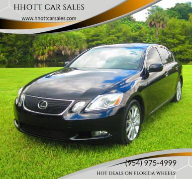 2006 Lexus GS 300 for sale at HHOTT CAR SALES in Deerfield Beach FL