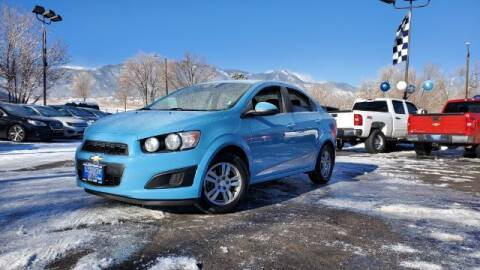 2014 Chevrolet Sonic for sale at Lakeside Auto Brokers Inc. in Colorado Springs CO