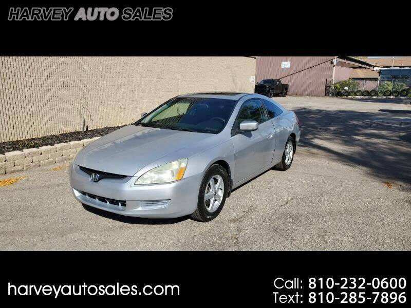 2004 Honda Accord for sale at Harvey Auto Sales, LLC. in Flint MI