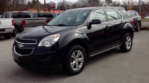 2013 Chevrolet Equinox for sale at Morristown Auto Sales in Morristown TN