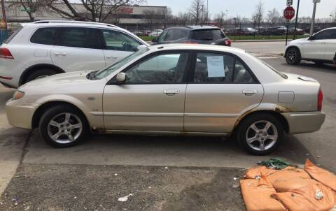 2003 Mazda Protege for sale at HW Used Car Sales LTD in Chicago IL