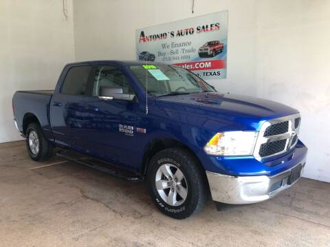 2019 RAM Ram Pickup 1500 Classic for sale at Antonio's Auto Sales in South Houston TX