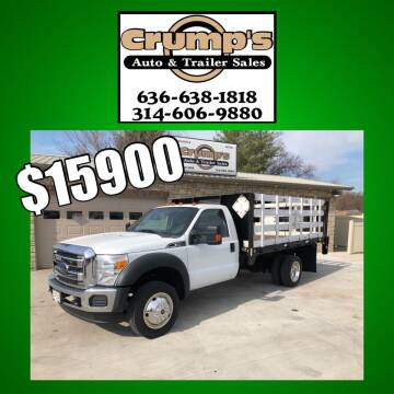 2012 Ford F-450 Super Duty for sale at CRUMP'S AUTO & TRAILER SALES in Crystal City MO