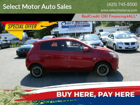 2014 Mitsubishi Mirage for sale at Select Motor Auto Sales in Lynnwood WA