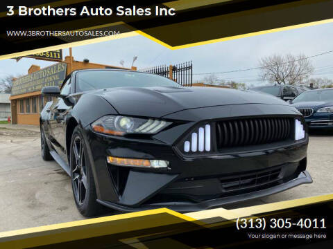 2019 Ford Mustang for sale at 3 Brothers Auto Sales Inc in Detroit MI