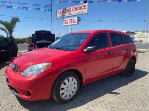 2005 Toyota Matrix for sale at Dealers Choice Inc in Farmersville CA