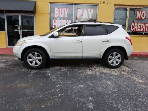 2007 Nissan Murano for sale at BSS AUTO SALES INC in Eustis FL