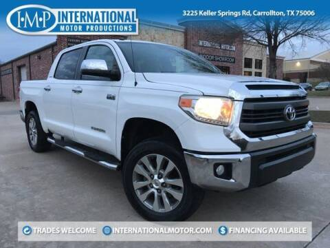 2014 Toyota Tundra for sale at International Motor Productions in Carrollton TX