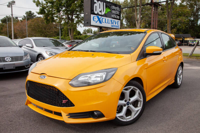2013 Ford Focus for sale at EXCLUSIVE MOTORS in Virginia Beach VA