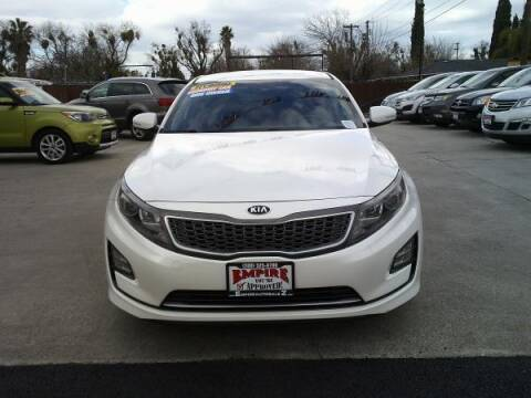2015 Kia Optima Hybrid for sale at Empire Auto Sales in Modesto CA