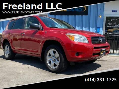 2008 Toyota RAV4 for sale at Freeland LLC in Waukesha WI