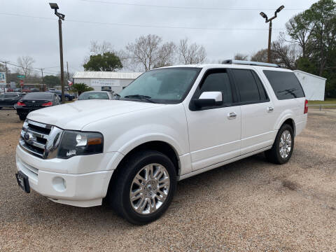 2012 Ford Expedition EL for sale at M & M Motors in Angleton TX
