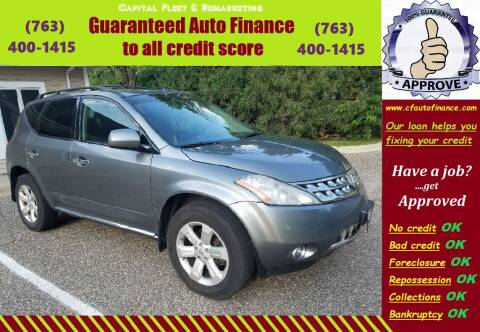 2007 Nissan Murano for sale at Capital Fleet  & Remarketing  Auto Finance in Columbia Heights MN