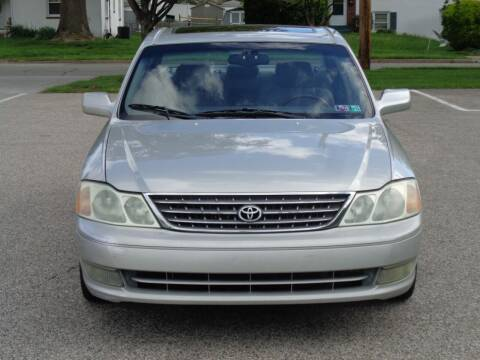 2003 Toyota Avalon for sale at MAIN STREET MOTORS in Norristown PA