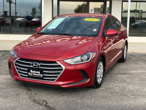 2017 Hyundai Elantra for sale at Nelson Car Country in Bixby OK