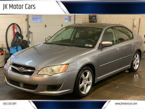 2008 Subaru Legacy for sale at JK Motor Cars in Pittsburgh PA