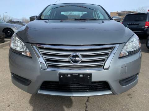 2014 Nissan Sentra for sale at Minuteman Auto Sales in Saint Paul MN