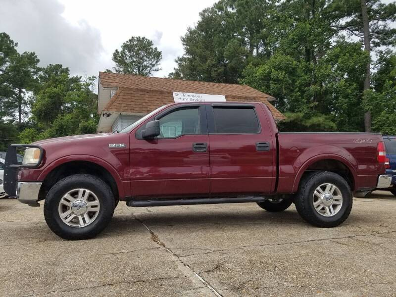 2006 Ford F-150 for sale at St. Tammany Auto Brokers in Slidell LA