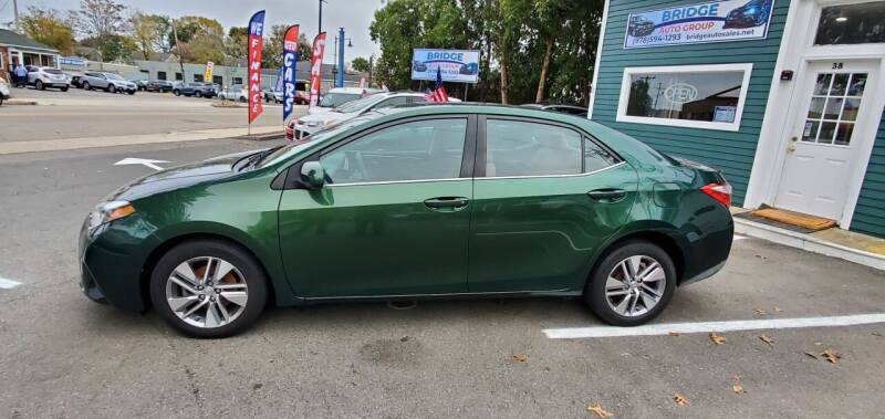 2014 Toyota Corolla for sale at Bridge Auto Group Corp in Salem MA