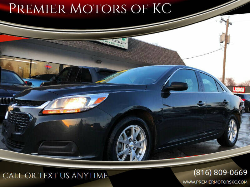 2014 Chevrolet Malibu for sale at Premier Motors of KC in Kansas City MO
