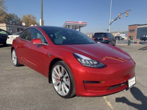 2019 Tesla Model 3 for sale at Classic Car Deals in Cadillac MI