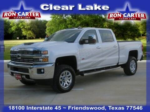 2019 Chevrolet Silverado 3500HD for sale at Ron Carter  Clear Lake Used Cars in Houston TX