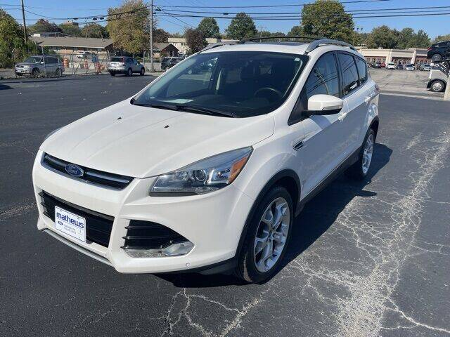 2015 Ford Escape for sale at MATHEWS FORD in Marion OH